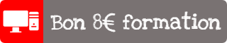 Bon 8€ de formation